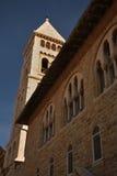 Церковь лютеранина спасителя в Иерусалиме Израиль Стоковые Фотографии RF