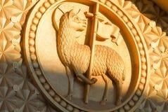Церковь лютеранина спасителя, Иерусалим, Израиль Стоковая Фотография RF