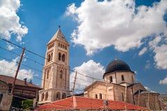Церковь лютеранина спасителя Стоковое Изображение