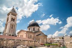 Церковь лютеранина спасителя Стоковое Фото