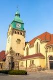 Церковь лютеранина, Qingdao, Китай стоковое изображение