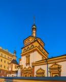 Церковь явления божества (построенного в 1718), Иркутск, Россия Стоковая Фотография