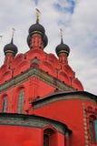Церковь явления божества в Yaroslavl России Стоковое Изображение