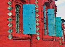 Церковь явления божества в Yaroslavl России Стоковые Изображения RF