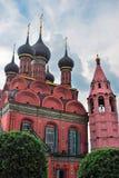 Церковь явления божества в Yaroslavl России Стоковые Фото