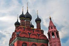 Церковь явления божества в Yaroslavl России Стоковое фото RF