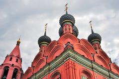 Церковь явления божества в Yaroslavl России Стоковое Изображение RF