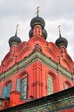 Церковь явления божества в Yaroslavl России Стоковая Фотография RF