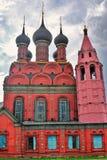 Церковь явления божества в Yaroslavl России Стоковое Фото