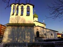 Церковь явления божества от Zapskovje Стоковое Фото