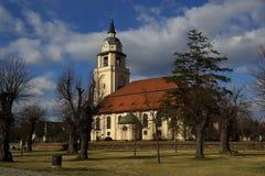 Церковь 05 Altdoebern стоковые фотографии rf