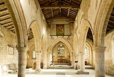 церковь 13th столетия Стоковое Фото