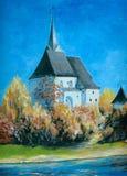 церковь иллюстрация вектора