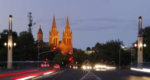 церковь adelaide стоковые фото