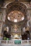 Церковь al Corso San Marcello в Риме Стоковое фото RF