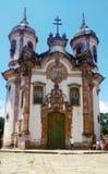 Церковь Aleijadinho стоковые изображения
