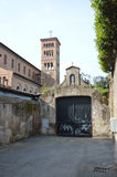 Церковь all'Aventino Sant Anselmo, Рима Стоковая Фотография RF