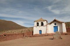 церковь altiplano Стоковое Фото
