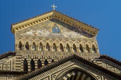 церковь amalfi Стоковое Фото