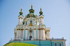 Церковь Andreevskaya стоковая фотография