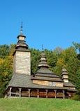 церковь antique деревянная Стоковые Изображения RF