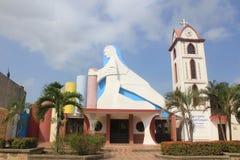Церковь Arboletes, Antioquia, Колумбия Стоковые Фото