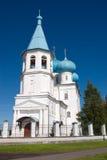 церковь arkhangelsk правоверная Стоковое фото RF