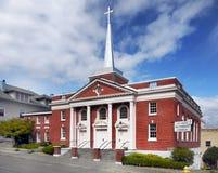 Церковь Astoria, Орегон Соединенные Штаты стоковые фотографии rf