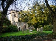 Церковь, Ayot Св. Лаврентий, Хартфордшир Стоковая Фотография