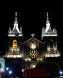Церковь Baños, эквадора стоковая фотография