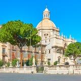 """Церковь Badia di Sant """"Agata стоковые изображения rf"""