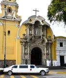 Церковь Baranco Лимы Перу стоковые фото