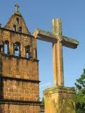 церковь barichara стоковая фотография rf