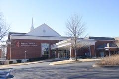 Церковь Bartlett объединенная методист, Bartlett, TN Стоковые Изображения RF