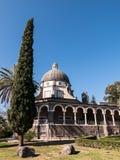 Церковь Beatitudes стоковое фото
