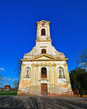 Церковь Becicherecu Mic стоковое фото