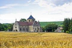 церковь buxeuil Стоковая Фотография