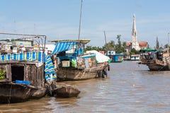 Церковь Cai Вьетнам Стоковые Фото