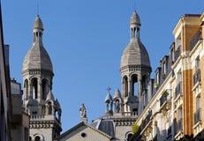 Церковь cailles Sainte Энн de Ла butte вспомогательная Стоковые Изображения