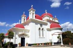 церковь capernaum правоверная Стоковая Фотография