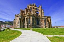 Церковь Castro Urdiales. стоковое фото rf