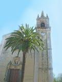 церковь catania Стоковые Изображения