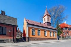 Церковь Cesis римско-католическая стоковые фото