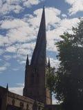 Церковь Chesterfields изумляя стоковая фотография rf