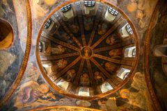 Церковь Chora Стоковое фото RF