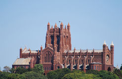 церковь christ собора Стоковое фото RF