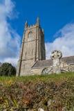 церковь cornwall Стоковое Фото