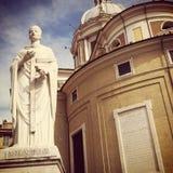 Церковь Corso al San Carlo стоковые фотографии rf