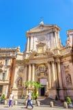 Церковь Corso al San Marcello стоковые изображения