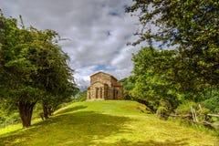 церковь cristina de lena oviedo santa Стоковые Фото